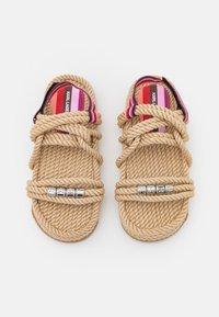 KARL LAGERFELD - RAPALLA  - Platform sandals - beige - 4