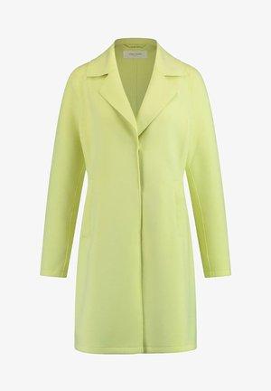 Classic coat - lime