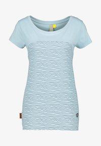 alife & kickin - Print T-shirt - ice - 5