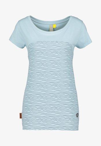 Print T-shirt - ice