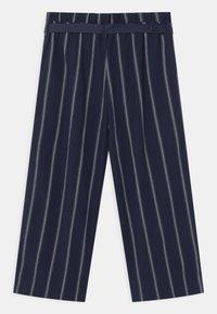 Tommy Hilfiger - STRIPE  - Trousers - twilight navy - 1