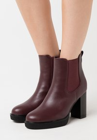 Anna Field - High heeled ankle boots - bordeaux - 0