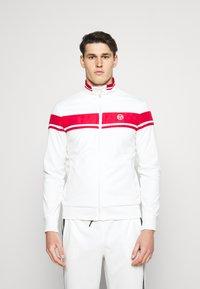 Sergio Tacchini - TRACKTOP YOUNGLINE - Sportovní bunda - blanc de blanc/tango red - 0