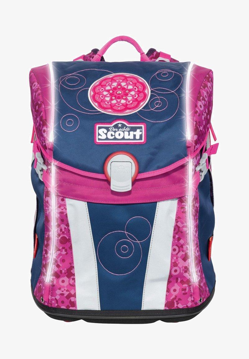 Scout - SAFETY LIGHT SUNNY SET  - Set zainetto - pink mandala