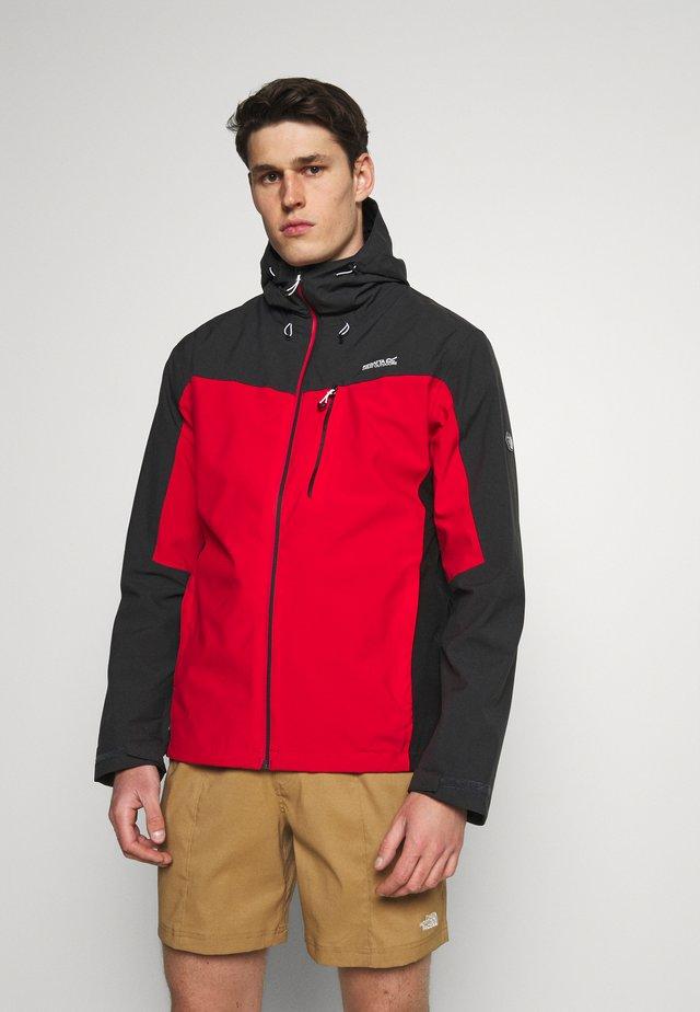 BIRCHDALE - Hardshell jacket - red