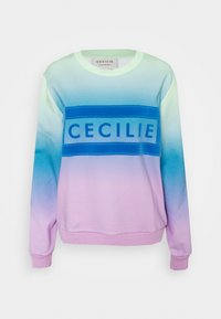 CECILIE copenhagen - MANILA RAINBOW - Sweatshirt - pastel green - 5