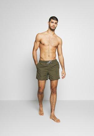 JJIARUBA SWIM  SHORTS - Swimming shorts - olive night