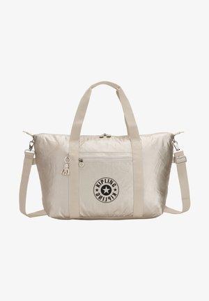 ART - Shopping bag - cloud metal