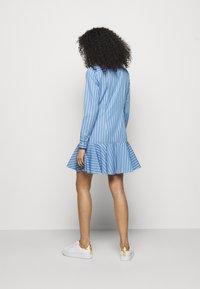 Lauren Ralph Lauren - DRESS - Shirt dress - blue/white - 2