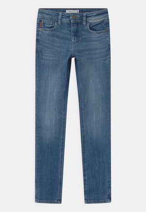 NKMTHEO  - Jeans a sigaretta - medium blue denim