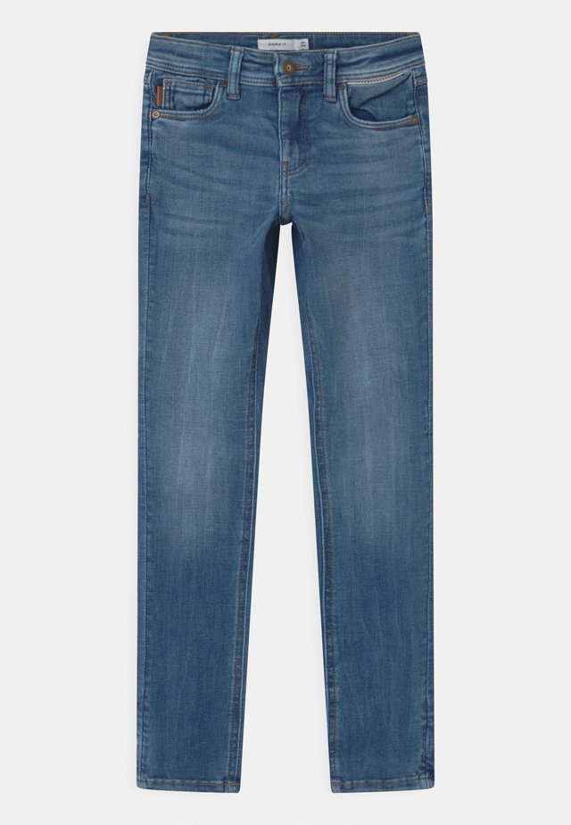 NKMTHEO  - Straight leg jeans - medium blue denim