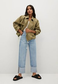 Mango - Summer jacket - khaki - 1