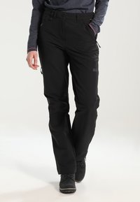 Jack Wolfskin - ACTIVATE WOMEN - Pantalons outdoor - black - 0