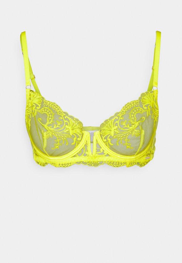 MARSEILLE BRA - Kaarituelliset rintaliivit - yellow