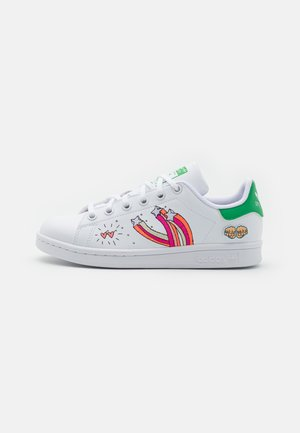 STAN SMITH UNISEX - Tenisky - footwear white/vivid green