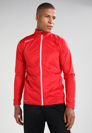 ESSENTIAL CLASSIC - Tracksuit - rot/weiß