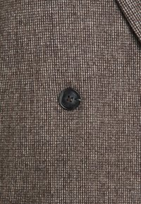 Third Form - OVERSIZED - Pitkä takki - dark brown - 2