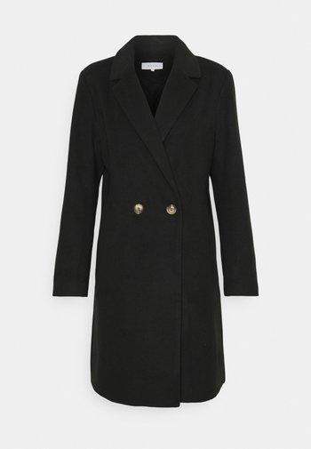 VIPOKU BUTTON COAT - Cappotto classico - black