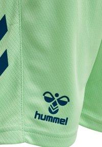 Hummel - ACTION  - Shorts - green ash/blue coral - 3