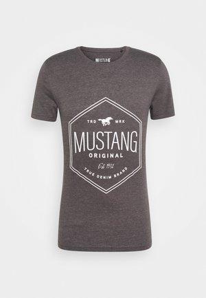 AARON - T-shirts med print - dark grey