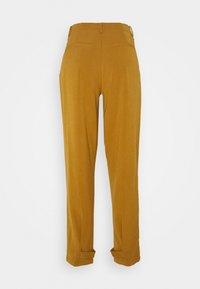 Nümph - NUMELISANDE PANT - Trousers - bronze - 1