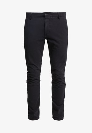 SMART FLEX ALPHA SKINNY LIGHTWEIGHT - Chinos - black