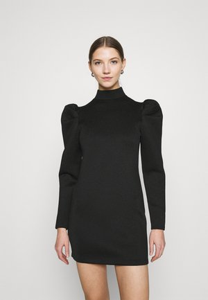 DIAMOND DRESS - Shift dress - black