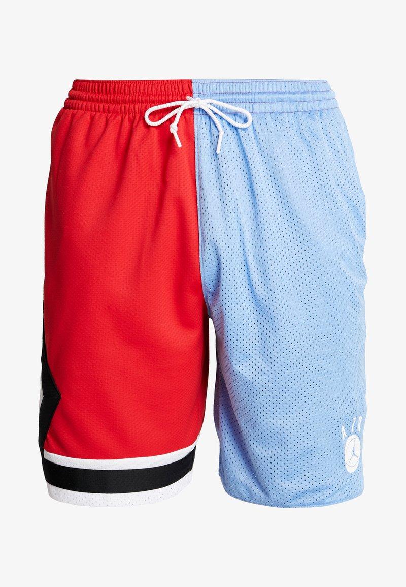 Muelle del puente barril ratón o rata  Jordan DNA DISTORTED SHORT - Sports shorts - valor blue/university  red/white/black/blue - Zalando.de