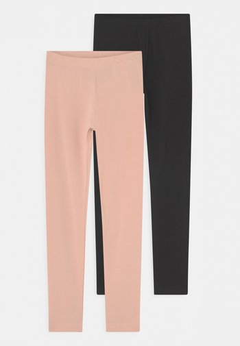 NICA 2 PACK - Leggings - Trousers - black cameo