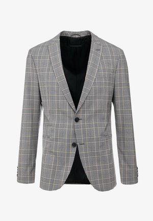 IRVING - Suit jacket - grey/yellow