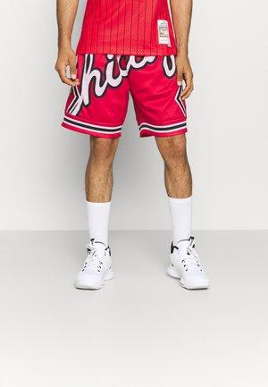 NBA CHICAGO BULLS BIG FACE BLOWN OUT FASHION - Club wear - red