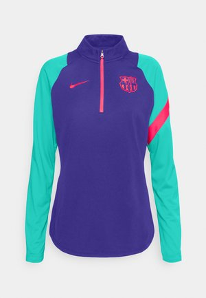 FC BARCELONA DRY  - Club wear - deep royal blue/fusion red