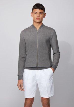 SKILES - veste en sweat zippée - grey