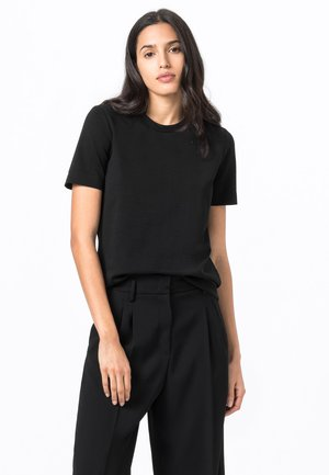 INTERLOCK - Basic T-shirt - schwarz