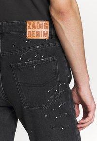 Zadig & Voltaire - DAVID PAINT - Slim fit jeans - noir - 5