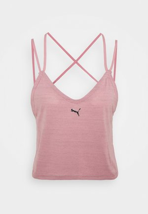 STUDIO STRAPPY TANK - Camiseta de deporte - foxglove heather