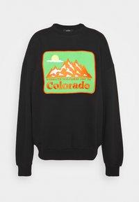 Stieglitz - BOULDER SWEATER - Sweatshirt - black - 0
