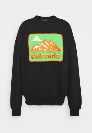 BOULDER SWEATER - Sweatshirt - black