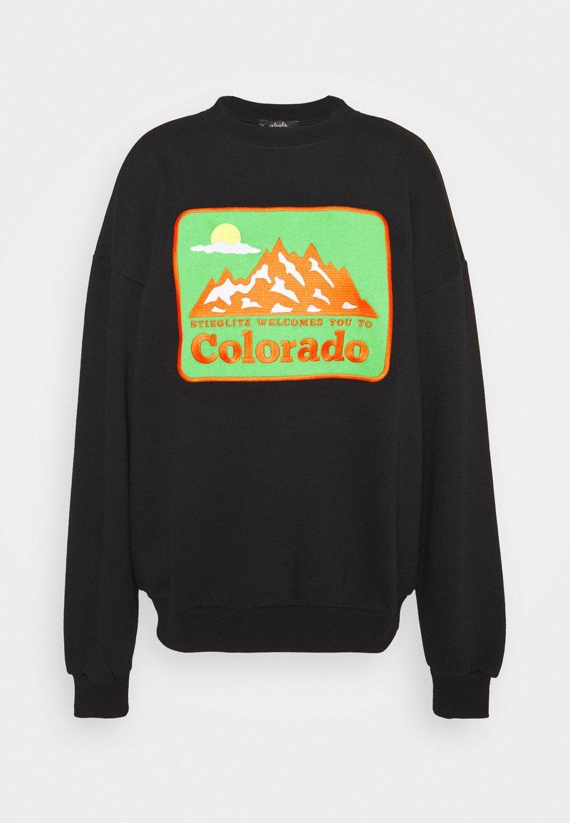 Stieglitz - BOULDER SWEATER - Sweatshirt - black