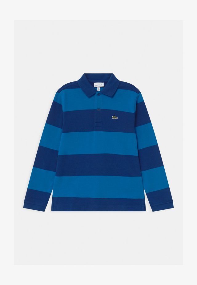 Polo shirt - globe/utramarine