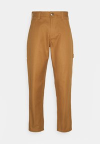 FAIRDALE - Trousers - brown duck