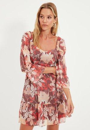 Sukienka letnia - brown