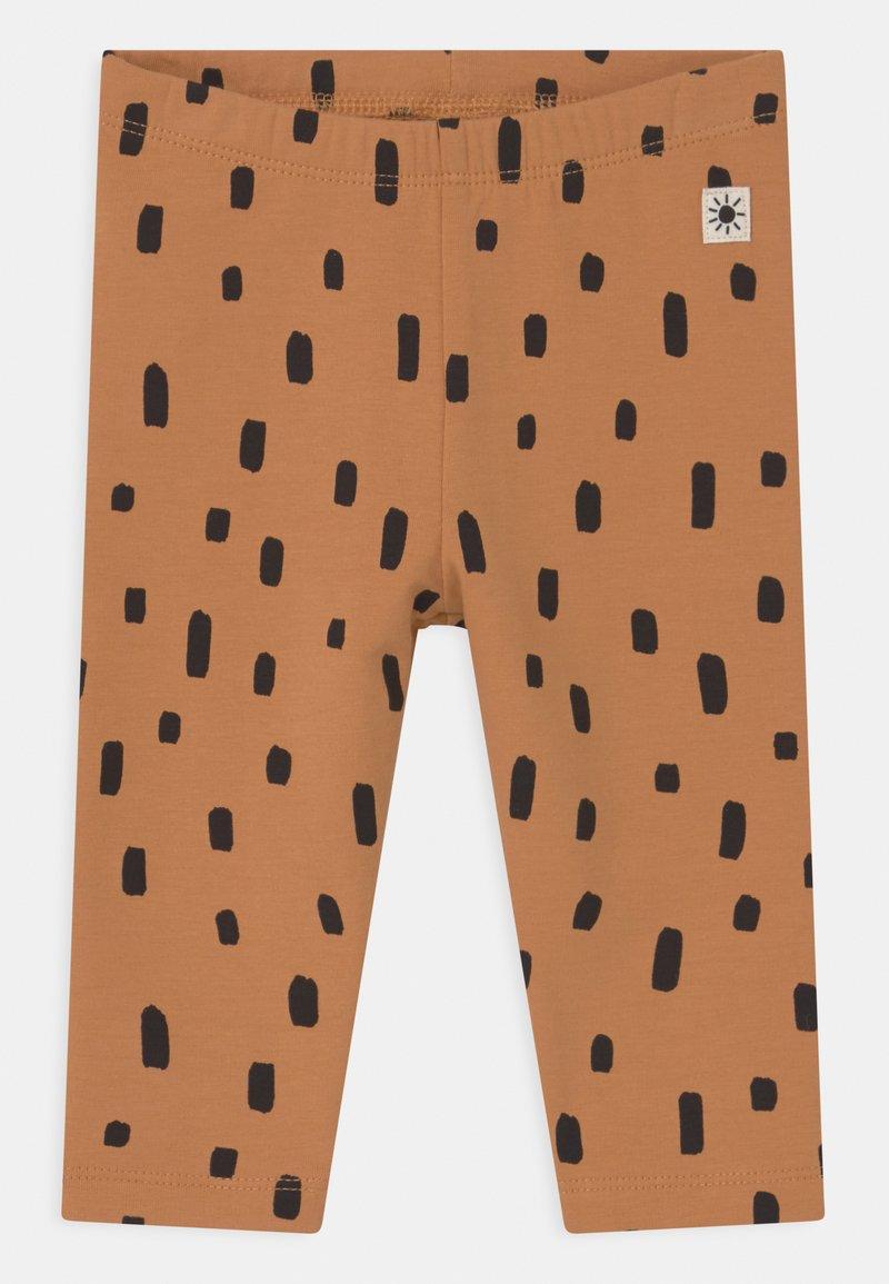 Lindex - DOTS - Leggings - Trousers - beige