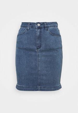 SUPER STRETCH SKIRT - Mini skirt - stonewash