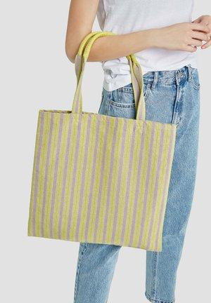 Tote bag - neon yellow