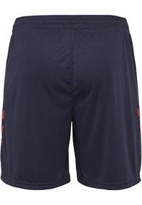 Hummel - DUO SET - Sports shorts - true red/marine - 4