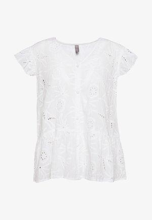 CUSAGA ANGLAISE TOP - Blouse - white