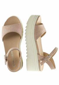 GRÜNBERG - Platform sandals - beige - 2