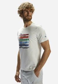 North Sails - T-shirt imprimé - white - 2