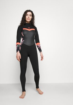 Bañador - black/bright coral